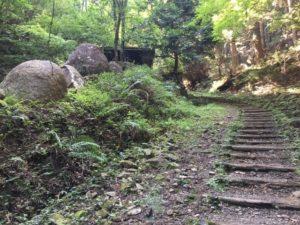 ハイキングコースの写真
