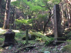 天然記念物石碑の画像