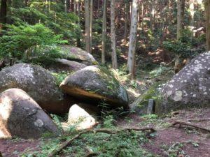 御舟石の画像