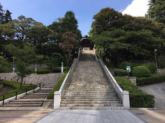 95段の階段の画像