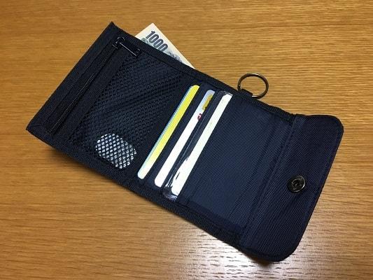 財布の中身の写真