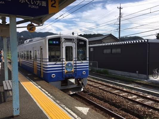 えちぜん鉄道車両の画像