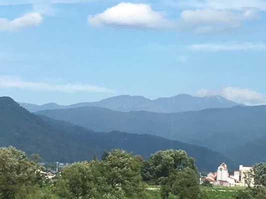 白山連峰の画像
