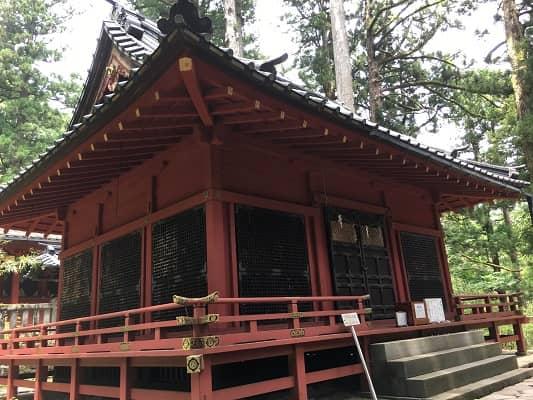 滝尾神社拝殿の画像