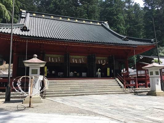 日光二荒山神社拝殿の画像