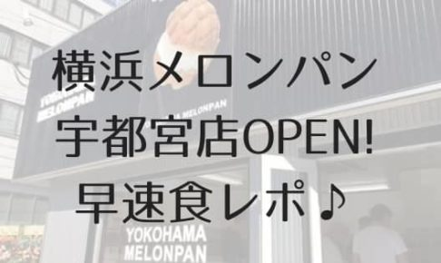 横浜メロンパン宇都宮のアイキャッチ画像