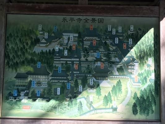永平寺全景図の画像