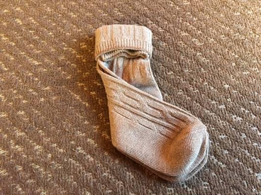 靴下の折り方④