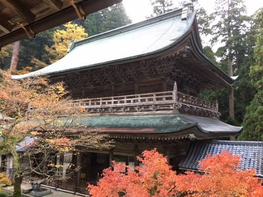 紅葉の永平寺の画像2
