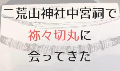 祢々切丸の展示のアイキャッチ画像