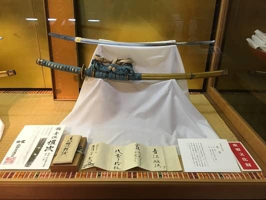 青江恒次の太刀の画像