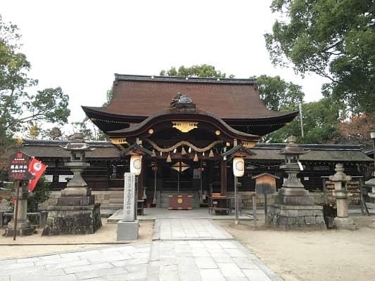 藤森神社拝殿の画像