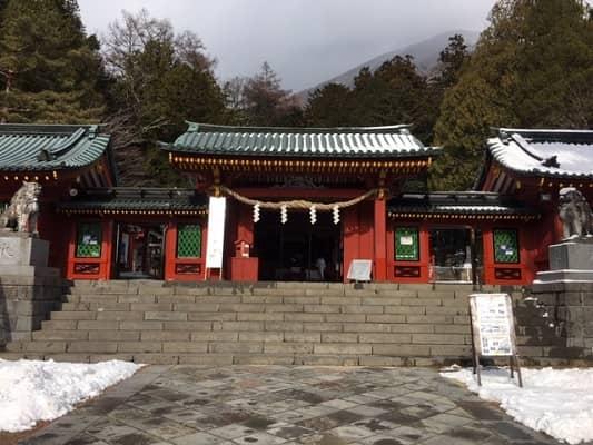 日光二荒山神社中宮祠中門の画像