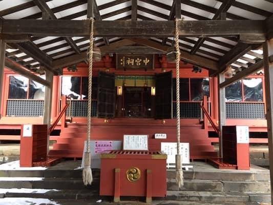 拝殿正面の画像