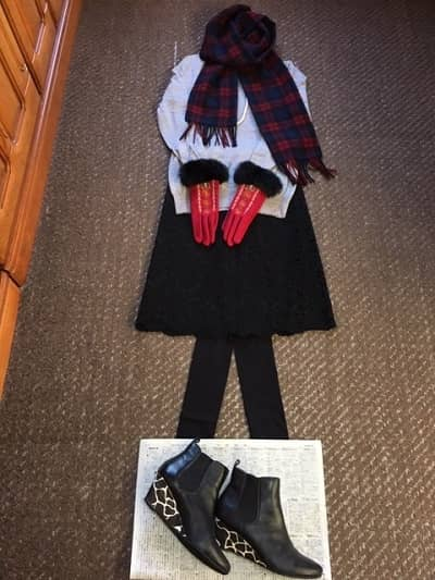 ミニマリストの冬コーデ2の画像